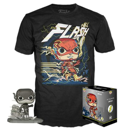 DC Jim Lee Funko Pop /& T-SHIRT DI FLASH pop e T-shirt di grandi dimensioni