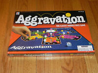 1999 Milton Bradley Aggravation Game - Sealed Classic Marble Race Game