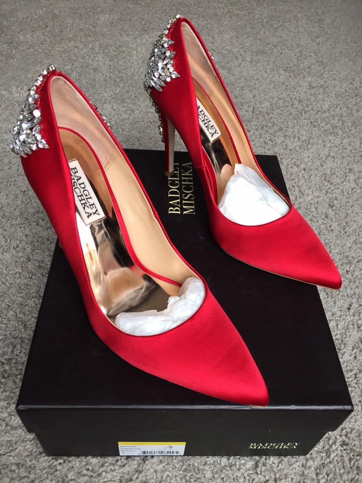Badgley Mischka magnífico Puntera en Punta Noche Zapatos Talla Talla Talla 8  la mejor oferta de tienda online