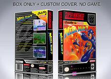MEGAMAN 7. NTSC VERSION. Box/Case. Super Nintendo. BOX + COVER. (NO GAME)