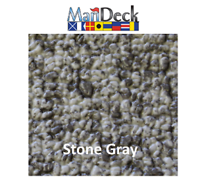 Details about 80mil Marideck Marine Boat Vinyl Flooring 8 5' Wide- Stone  Gray- Choose Length