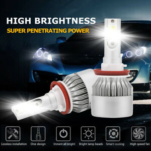 H11-H8-H9-2000W-270000LM-LED-Headlight-Bulbs-Conversion-Kit-6000K-High-Low-Beam