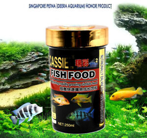 Aquarium-Niniature-Food-For-mini-Cichlids-fish-Sinking-1MM-Pellet-200ml-AK295
