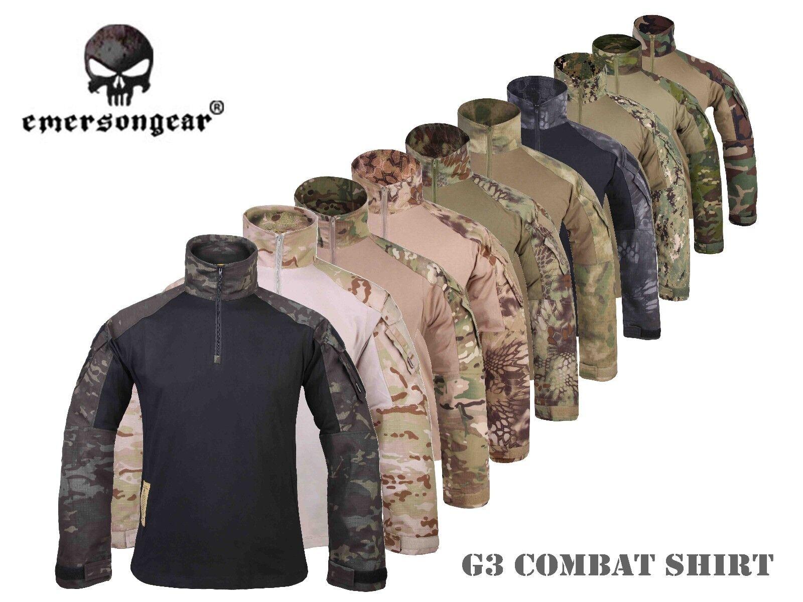 Men Airsoft Hunting Tactical bdu Shirt Emerson Combat Gen3 Shirt