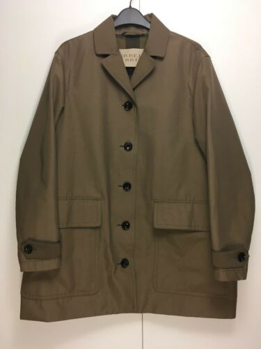 To Brown 8 Breasted Khaki Single Coat Burberry Taupe Brit Cocoon 10 Trench Short PH64qn
