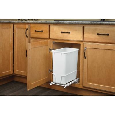 Kitchen Under Sink Cabinet Slide Out Trash Waste Garbage