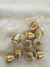 New 10 Piece 12 Sharkbite Style Push On End Cap Pex Copper Pipe Fittings