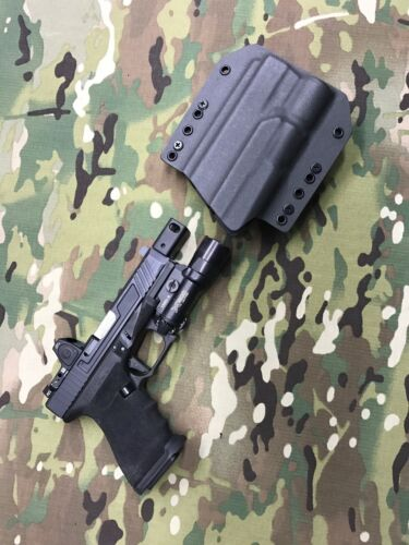 Armor Gray Kydex Holster for Glock Roland Special X300 Ultra A model