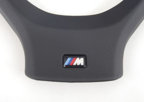 BMW NEW GENUINE E70 E71 07-13 M SPORT LEATHER STEERING WHEEL TRIM COVER 7839474