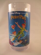 Peter Pan Plastic Glass ~ Disney Classic Collector Series ~ Coke ~ Burger King
