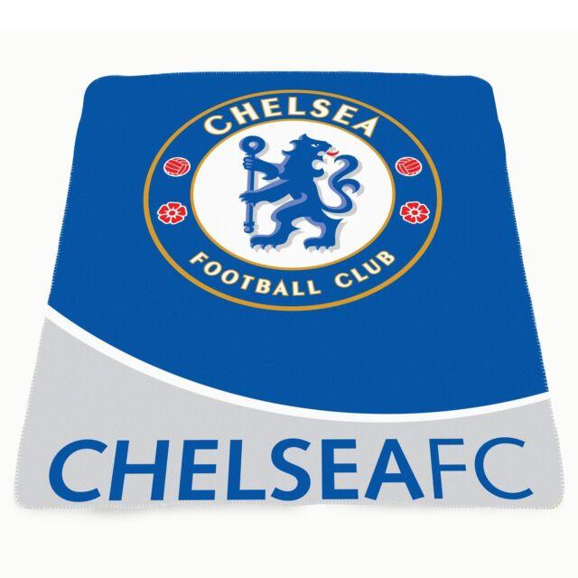 Chelsea Fc Fleece Blanket .New