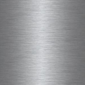 67 5cm wid brushed steel metal metallic silver self adhesive sticky