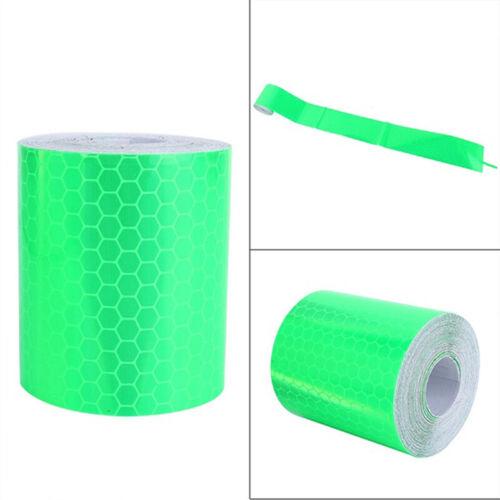 1m*5cm Car Reflective Self-adhesive Safety Warning Tape Roll Film StickeL ov