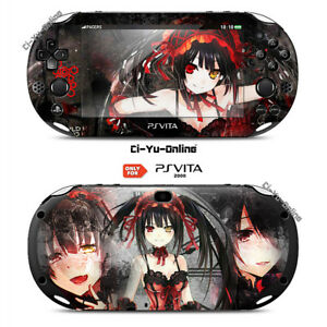 ps Vita Impartial Ci-yu-online Date A Live #3 Vinyl Skin Playstation Vita 2000 Clear And Distinctive