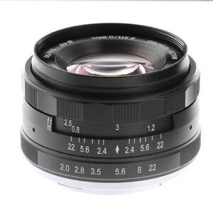 meike 50mm f2 large aperture manual focus mf prime lens for nikon 1 rh ebay com best nikon manual focus prime lenses Nikon AF-S vs AF