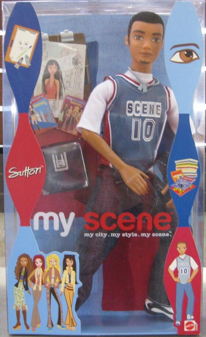 Barbie my scene Sutton Athletic Wear  fechado 2003   en Caja Como Nuevo