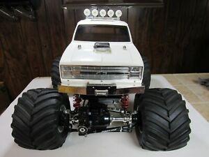 Vintage 1 10 Tamiya Clodbuster 4x4 Monster Rc Truck Built How Truck Rtr Ebay