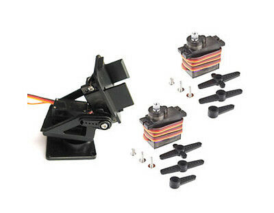 PT Pan/Tilt Camera Platform Mount for FPV + 2x MG90s servos