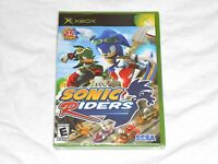 NEW Sonic Riders XBox Game FACTORY SEALED Original the hedgehog race US NTSC