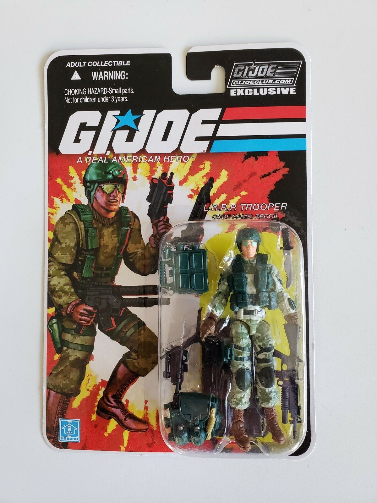 RECOIL FSS 8.0 MOC GI Joe Club Exclusive