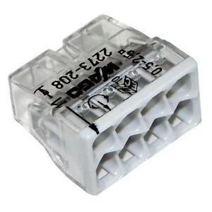 2273-208 Wago Klemmen 8 polig 50 Stück