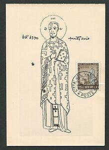 VATICAN-MK-1955-S-BARTOLOMEO-MAXIMUMKARTE-CARTE-MAXIMUM-CARD-MC-CM-d7518