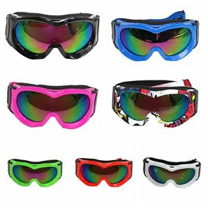 NEW-Kids-Tinted-motocross-motorbike-goggles-anti-fog-UV-protection-MX-dirt-Bike