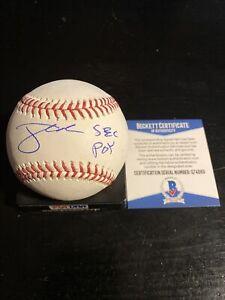 Jonathan India Autographed Romlb SS Ball W/Coa Cincinnati Reds