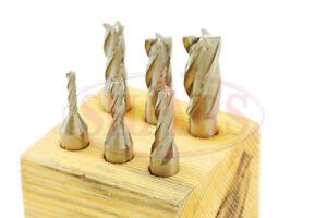 Shars-6-PC-1-8-1-2-034-HSS-4-Flute-Single-End-Mill-Set-3-8-Shank-1-8-3-16-1-4-5-16