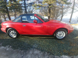 1991 Mazda Miata convertible only 57000kms