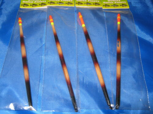 50 Crappie//Ice Fishing Balsa Slip Floats Strike Indicator Pencil Stick Bobber