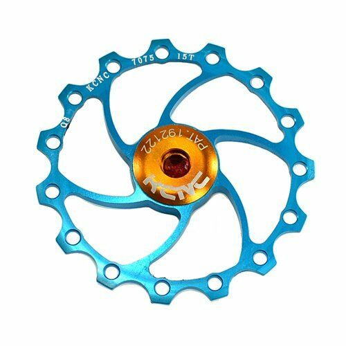 15T Jockey wheel 1 piece New KCNC Alloy Rear Derailleur Pulley