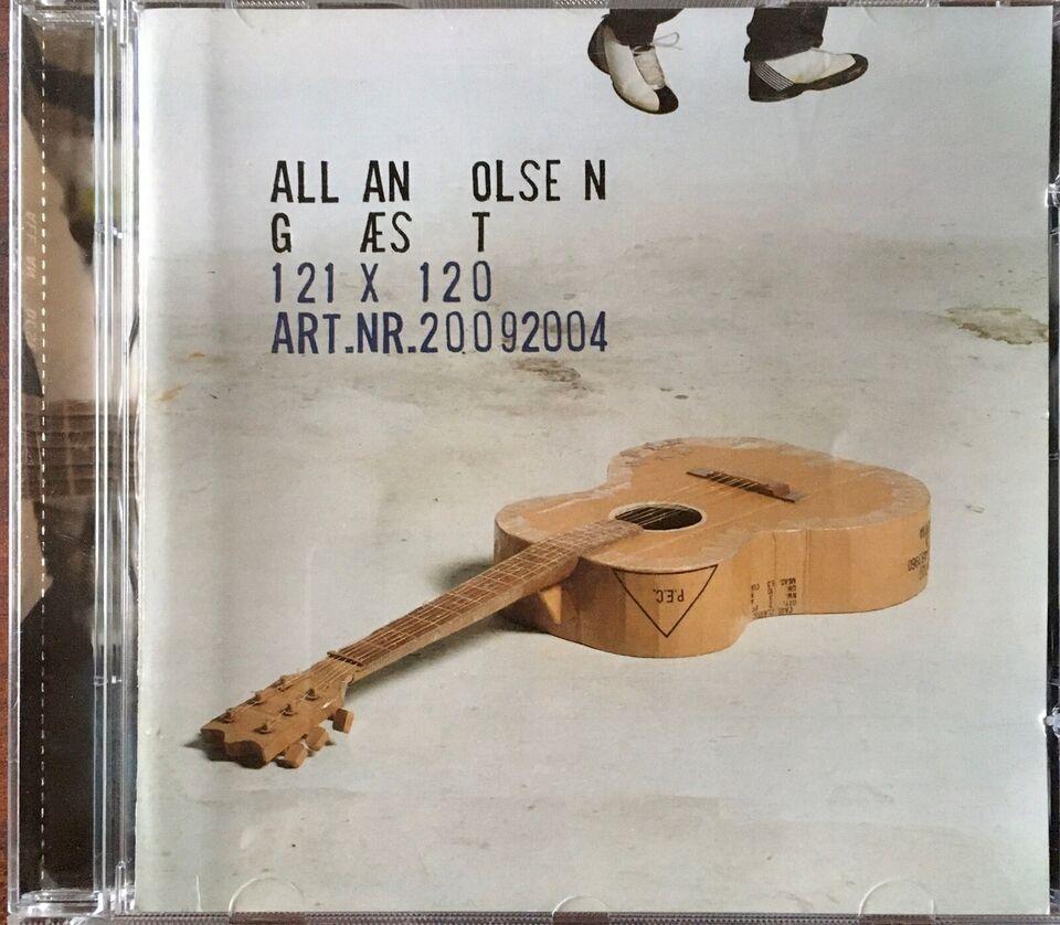 Allan Olsen: Gæst, rock
