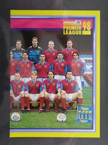 MERLIN PREMIER LEAGUE 98-Team Photo (2/2) West Ham United #460