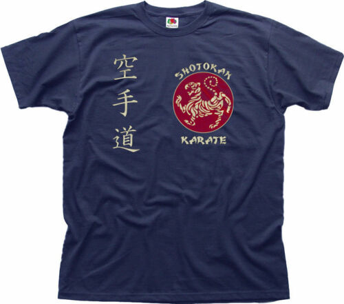 SHOTOKAN KARATE Martial Arts MMA UFC navy t-shirt OZ01460
