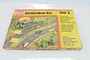 Busch-7095-Z-Road-Construction-Set-6-7-12ft-Gauge-Z-Original-Packaging