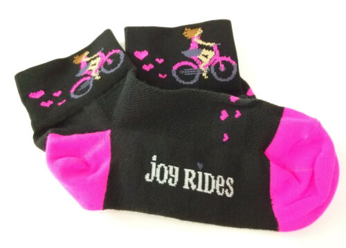 "7.5-9 Defeet Aireator 3/"" Sugarfly Women/'s Socks Medium Black//Pink"