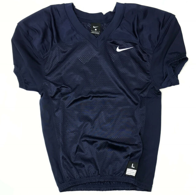 info for 4a694 a76fe Nike Stock Vapor Football Jersey Youth Boy's Large Navy Blue 908739