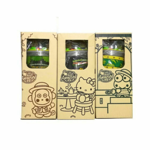 Set Cafe Amazon Sanrio Hello Kitty Tumbler Dome Cup Limited Thailand Collectible