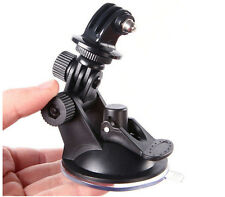 New Universal Car Mount Holder Suction Cup Sucker For Gopro 2/3/3+ SJ4000 Camera