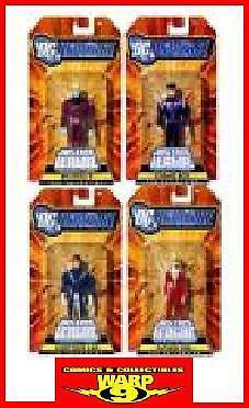 Jlu Legion De súper Heroes 4 Figura Set  Dc Universe