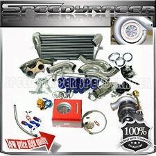 Super Drag HX40W -T4 Turbo Kits Mazda RX 7 Turbocharger & Manifold & Intercooler
