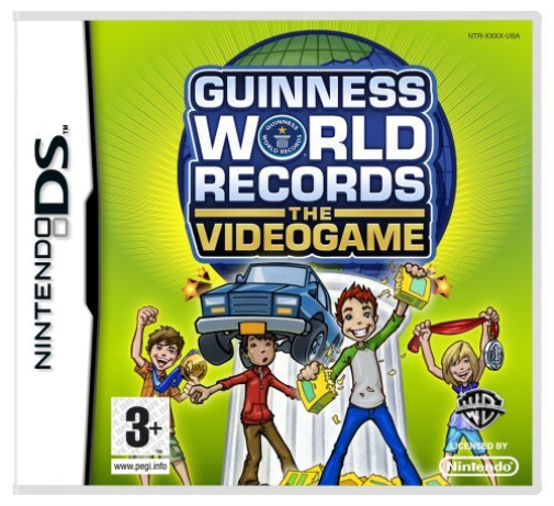 NDS-Guinness Book Of Records: The Videogame /NDS  GAME NEUF