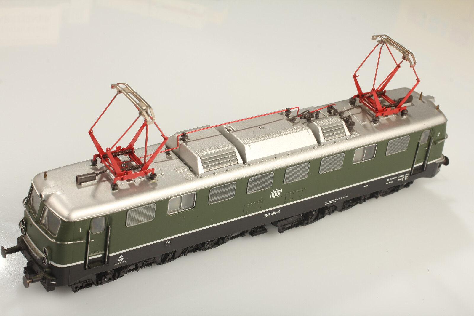 Roco H0 Db Br150 100-6 - Locomotiva Läuft Buona - Luce   Cambio Sporco Graffi