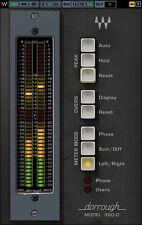 Waves Dorrough Stereo Meter Collection Metering Plugin AAX RTAS VST AU - LICENSE