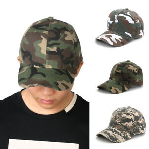 Women Men Military Army Camo Hat Baseball Cap Trucker Camouflage ... 492fe01d2d6