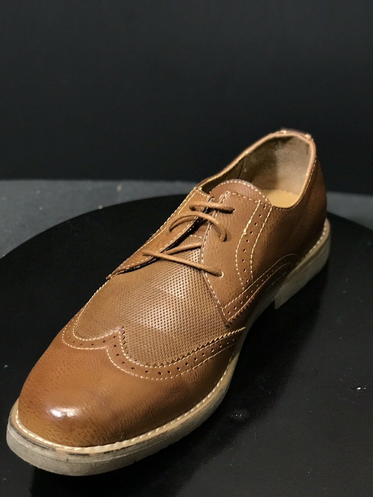 MADDEN Brown Oxford Dress PU Upper Mens shoes Size US 11 M