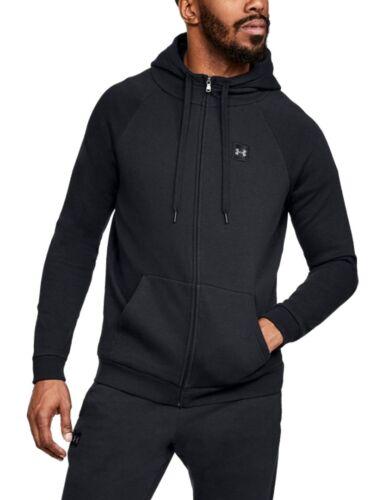 para Fleece Under Black con capucha Rival Zip Armour Chaqueta Ua hombre Jacket Full RTE8q