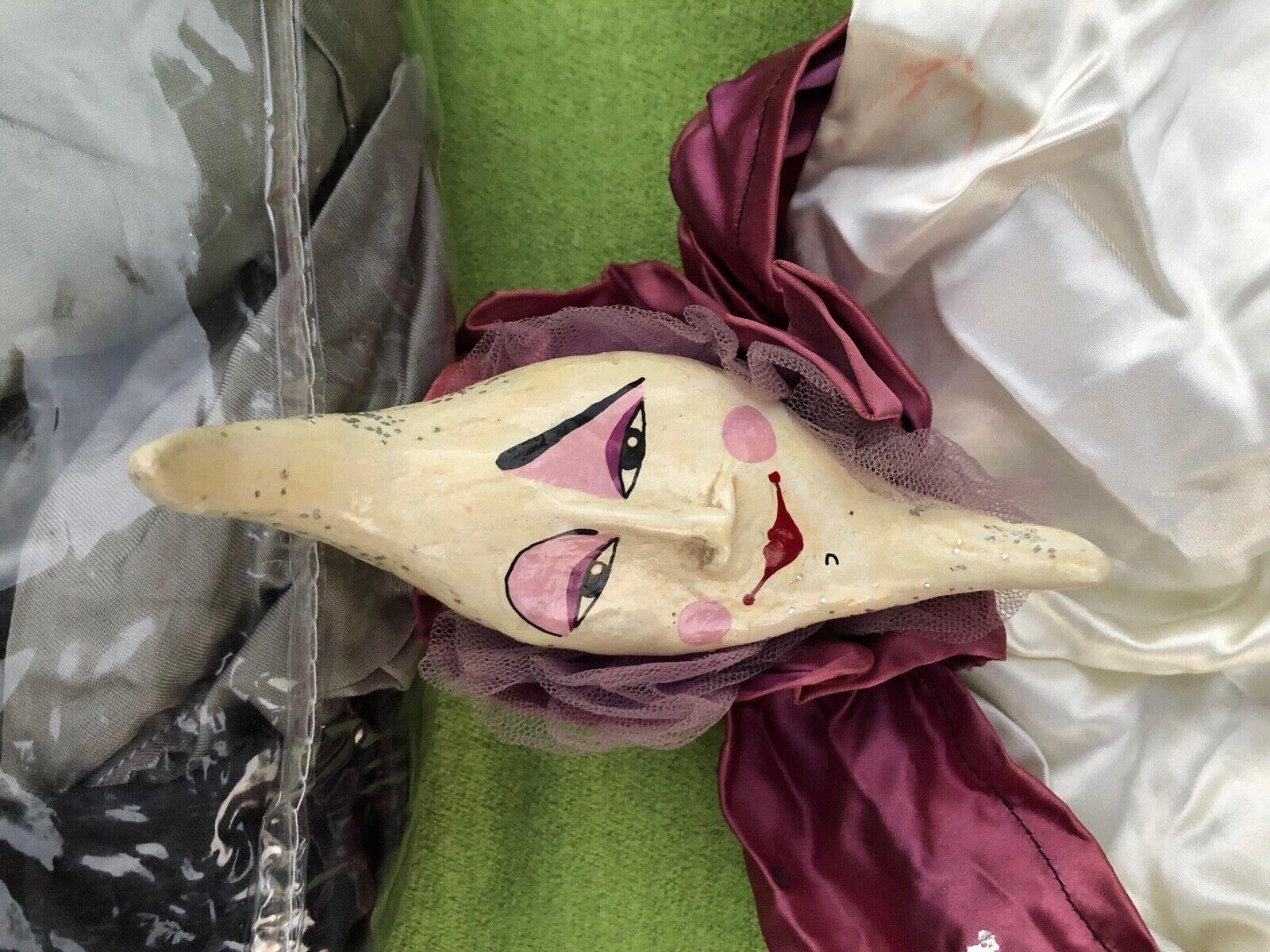 Marionette Puppet, fatto in Venice, , annata or Antique  Moon