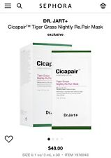 Dr.Jart+ SG_B075TR1CCB_US 0.1 fl.oz Cicapair Tiger Grass Nightly Re.Pair Mask - 30 Pieces